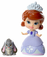 Принцесса София и Клевер, мини-кукла, Disney Sofia the First, Jakks Pacific