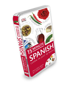 15-Minute Spanish + CD