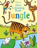 Jungle - First colouring books