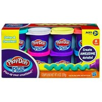 Набор пластилина Play-Doh Plus, 8 баночек, Play-Doh