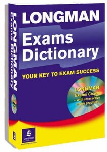 Longman Exams Dictionary CD ROM Pack New Edition Paperback (9781405851374)