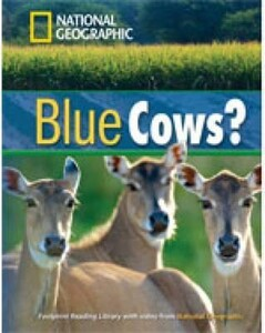 Footprint Reading Library 1600: Blue Cows? [Book with Multi-ROM(x1)]