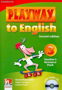 Playway to English Second edition Level 3 Teacher`s Resource Pack with Audio CD