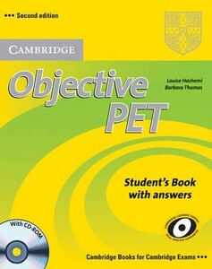 Objective PET Second edition Student`s Book with answers with CD-ROM (9780521732666)