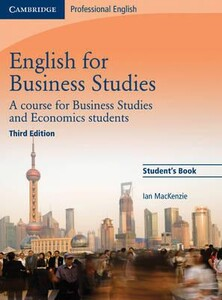 English for Business Studies Third edition Student`s Book (9780521743419)