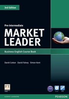 Market Leader Third Edition Pre-Intermediate Course Book + DVDRom Pack