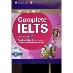 Complete IELTS Bands 5-6.5 Student`s Book with answers with CD-ROM (9780521179485)
