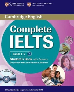Complete IELTS Bands 4-5 Student`s Book with answers with CD-ROM (9780521179560)