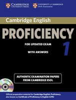 Cambridge English Proficiency 1 for Updated Exam Self-study Pack (Student`s Book with answers and Audio CDs (2))