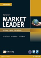 Market Leader Third Edition Elementary Course Book + DVDRom Pack
