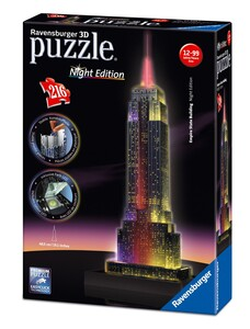 3D Пазл-ночник Empire State Building (216 эл.), Ravensburger
