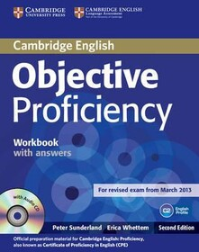 Objective Proficiency Second edition Workbook with answers with audio CD