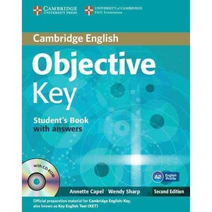 Objective Key Second edition Student`s Book with answers with CD-ROM (9781107627246)