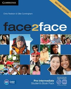 Face 2 Face Pre-Intermediate Second Edition Student`s Book with DVD-ROM and Online Workbook Pack (9781139566582)