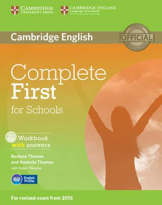 Complete First for Schools Workbook with Answers with CD Aud