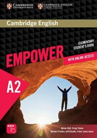Cambridge English Empower Elementary Student`s Book with Online Assessment and Practice, and Online Workbook