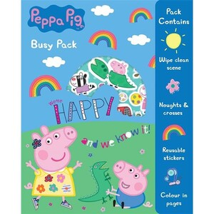 Peppa Pig Busy Pack Book