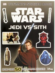 Star Wars Jedi vs Sith Sticker Book