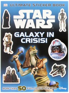 Star Wars Galaxy in Crisis Sticker Book