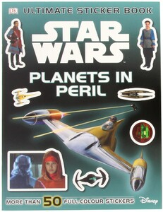 Star Wars Planets in Peril Sticker Book