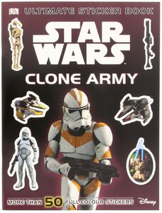 Star Wars Clone Army Sticker Book