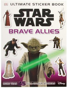 Star Wars Brave Allies Sticker Book