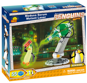 Конструктор Мутирующий лазер Медузы, серия The Penguins of Madagascar, Cobi
