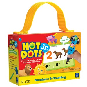 Hot Dots® Jr. Numbers & Counting Card Set