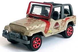 Машинка Jeep Wrangler, Jurassic World