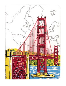 Handmade Journal: San Francisco Golden Gate