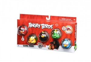 Игровой набор Game Pack (Core Characters) 5 героев Angry Birds
