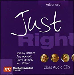 Just Right Advanced Audio CD