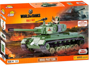 Конструктор Танк M46 Patton, World of Tanks, Cobi