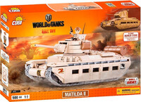 Конструктор Танк Matilda II, World of Tanks, Cobi
