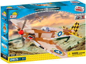 Конструктор Самолет Curtiss P-40 Warhawk, серия Small Army, Cobi