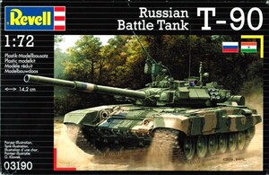 Танк Russian Battle Tank T-90; 1:72, Revell