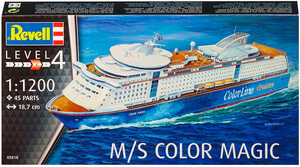 Круизное судно M/S Color Magic, 1:1200, Revell