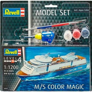 Model Set Круизный лайнер M/S Color Magic, 1:1200, Revell