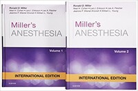 Miller's Anesthesia, International Edition, 8th Edition, 2 Volume Set