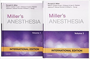 Miller's Anesthesia, International Edition, 8th Edition, 2 Volume Set (9780323280785)