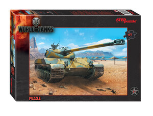 Пазл World of Tanks на 160 элементов. Step Puzzle