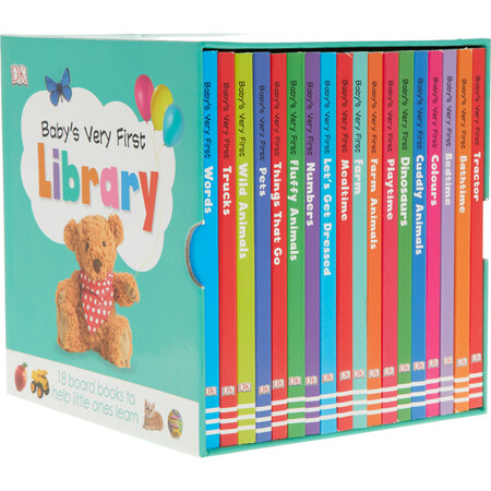 Фото Baby's Very First Library - 18 книг в комплекте (9780241376911).