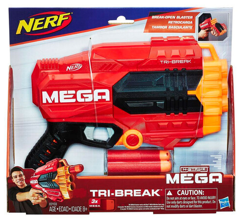 Фото Бластер Nerf Mega Tri-Break.