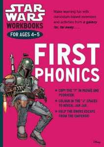 Star Wars Workbooks. First Phonics - Ages 4-5