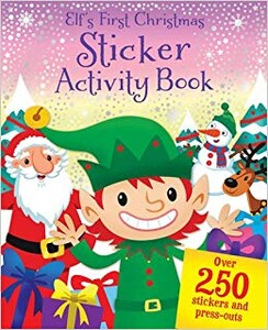 Elf's First Christmas Sticker Activity Book