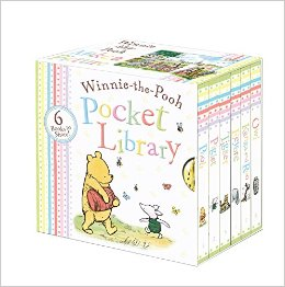 DISNEY WINNIE THE POOH POCKET LIBRARY 6 BOARD BOOK