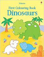 Dinosaurs - First colouring book