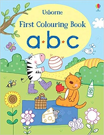 Фото ABC - First colouring book.