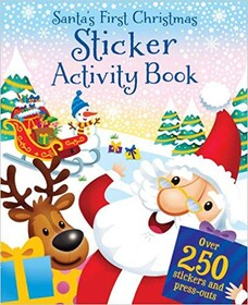 Santa's Jolly Sticker Book
