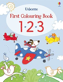 123 - First colouring book